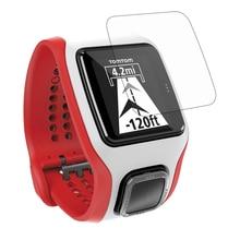 3 Pcs Smart bracelet watch protection film for TomTom Multi-sport Cardio Protective HD scratch-resistant electrostatic Glass