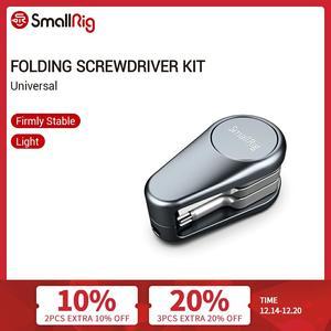 Image 1 - Smallrig Vouwen Schroevendraaier Kit Explorer Met Allen Sleutels/Platte Schroevendraaier/Phillips Schroevendraaier/Torx Schroevendraaier Set 2371