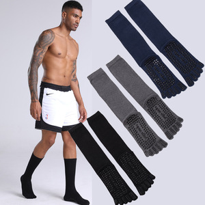 Image 3 - VERIDICAL גדול גודל כותנה חמישה גרבי אצבע גבר 3 זוגות\חבילה מוצק החלקה ספורט עסקי מסיבת שמלת צוות הבוהן גרביים
