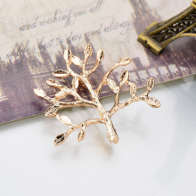 YADA INS Gold Christmas Tree Pins&Brooches for Women Men Clothes Scarf buckle collar jewelry Plant Potted pins Brooches BH200054