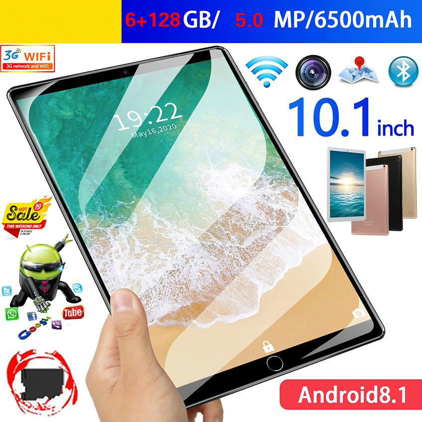 10.1 Inch Google Play Store Tablets PC 10 Core 6G+128GB ROM Dual SIM 5.0 MP GPS Android 9.0 Tablet 4G LTE Metal Back Shell|Tablets| – AliExpress
