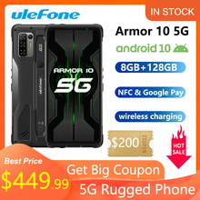 Ulefone Armor 10 5G Robuuste Mobiele Telefoon 8Gb + 128Gb Android 10 Waterdichte Smartphone/IP68 IP69K/ 6.67
