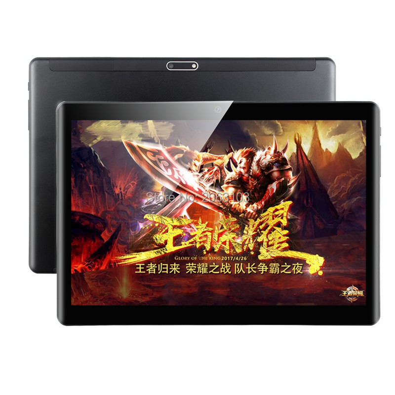 2.5D Tablet Octa Core 10 Inch 6G RAM 64GB ROM 3G 4G Phone Call 1920*1200 Tablet PC Google Play Android 9.0 Nougat 10 10.1