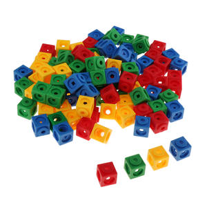 Early Education Linking Counting Cubes Snap Blocks Manipulative Math for Kid