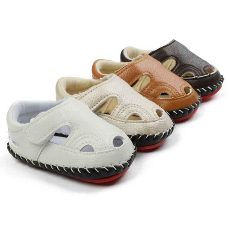 Newborn Baby Boy Girl Soft Sole Shoes