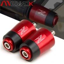 Motorcycle CNC Handle Bar Handlebar Grips Cap End handle Plugs cap For KAWASAKI Z400 Z750 Z800 Z900 Z900RS Z1000 Z1000SX