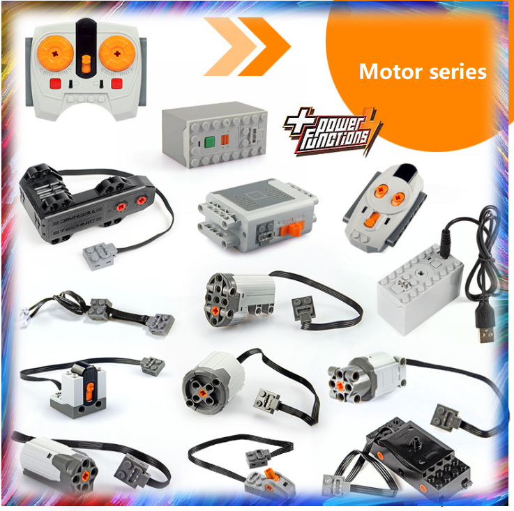 technic,car,truck,motor,control,cable,connector Lego Power Functions SWITCH