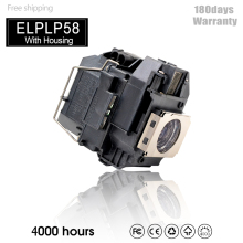 Projector-Lamp EB-S92 ELPLP58 V13H010L58 for EB-X7 EH-DM3 Compatible EH-TW450 W10