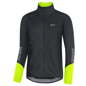 Gore-maillot de ciclismo para hombre, ropa de manga larga, ligera, a prueba...