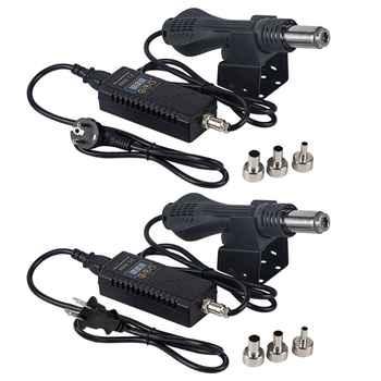 Portable 8858 Hot Air Desoldering Station US/EU Plug Rework Solder Soldering Repair Station Hot Air Blower - DISCOUNT ITEM  18 OFF Tools