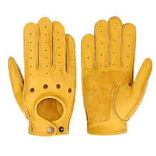 Motorcycle Gloves Goatskin Leather Moto Gloves Summer Breathable Motorbike Riding Full Half Finger Gloves Guantes Moto xueyu motorcycle gloves touch screen knight protective gear biker motorbike motocross gloves full finger guantes moto luvas