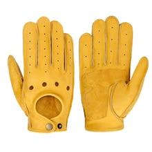 Motorcycle Gloves Goatskin Leather Moto Gloves Summer Breathable Motorbike Riding Full Half Finger Gloves Guantes Moto roseanna pубашка
