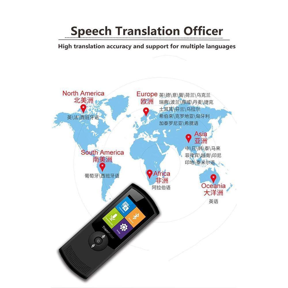 Multi taal Voice Vertaler, Instant Smart Vertaling Apparaat Voor Internationale Reizen - 5