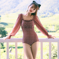 Women's One Piece Swimsuit Swimwear Push Up Swimsuits Woman Badpak Plus Size 1 Piece Women Korean Bathing Suit Female Ins 2019