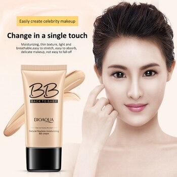 BB Cream Concealer Facial Foundation Brightening Cream Whitening Base Primer Moisturizing Base Face Foundation Minimizes Pores 1