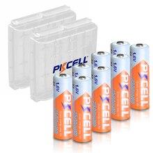8 sztuk PKCELL AA 2500mWh 1.6V ni zn akumulator aa NIZN baterie 2A i 2 sztuk nizn baterii pojemnik na pudełko przypadki do aparatu