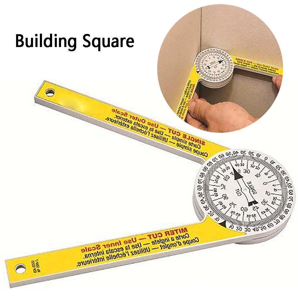 Miter Saw Angle Ruler Digital Protractor Plumbers Hand-Tools 3D Woodworking DIY