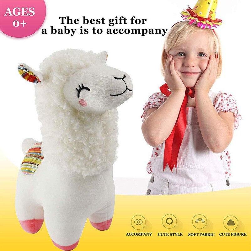 Купить 25 см 45 kawaii альпака лама плюшевые игрушки животные мягкие