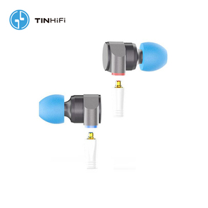 Image 2 - TINHiFi Tin Audio T2 Dual Driver Metal Headphones HiFi Wired Earbuds Dynamic Bass MP3 Music DJ Headphones Mmcx Replaceable Cable