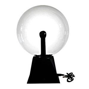 Image 5 - Quả Cầu Plasma Quả Cầu Ánh Sáng Diệu Nhẹ Đèn Pha Lê Bóng Để Bàn Sét 4/5/6/8 Inch Âm Thanh Điều Khiển Ánh Sáng Plasma cho Trang Trí Nhà