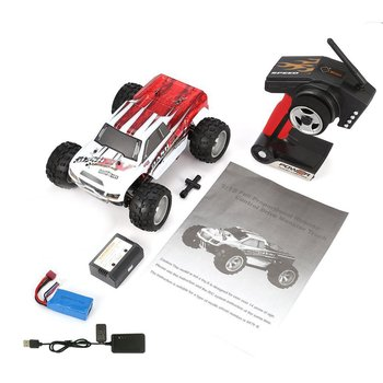 WLtoys A979-B 4WD 1/18 70km/h High Speed Monster Truck 1:18 2.4G Radio Control RC Buggy Off-Road RTR A979 Updated Version