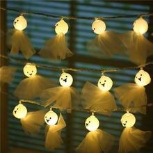 20 40 светодиодный светильник в форме куклы призрака для Хэллоуина
