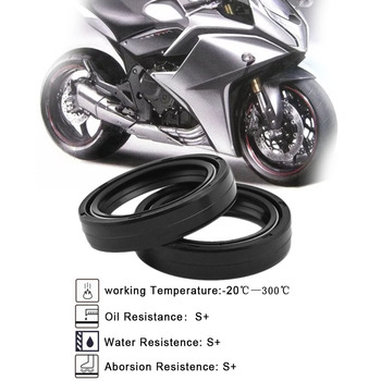 Para Suzuki GSX600F GSX-R600 RF600R SFV650 SFV 650 Motor 41X54X11mm gomas frontales antivibración de accesorios de sellos 41 54 11