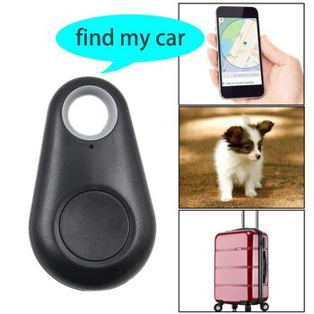 Pet Smart GPS Tracker Portable Mini Anti-Lost Bluetooth Locator Tracer For Dogs Cats Pet Wallet Key Pet Child Car Finder Tracker image