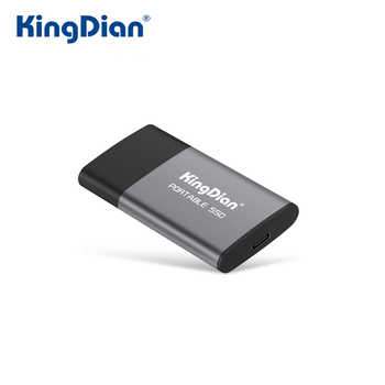 KingDian External SSD 120GB 250GB 500GB Portable SSD 1TB External Hard Drive 2TB Solid State Disk With USB3.0 To Type-C - DISCOUNT ITEM  41 OFF Computer & Office