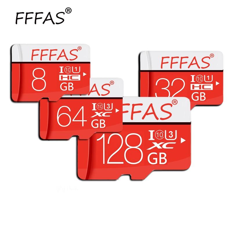Chegada nova cartão de memória micro sd 128gb 64gb 32gb classe 10 tf cartão micro sd cartão 16gb 8gb cartao de memoria com frete grátis|Cartões de memória|   -