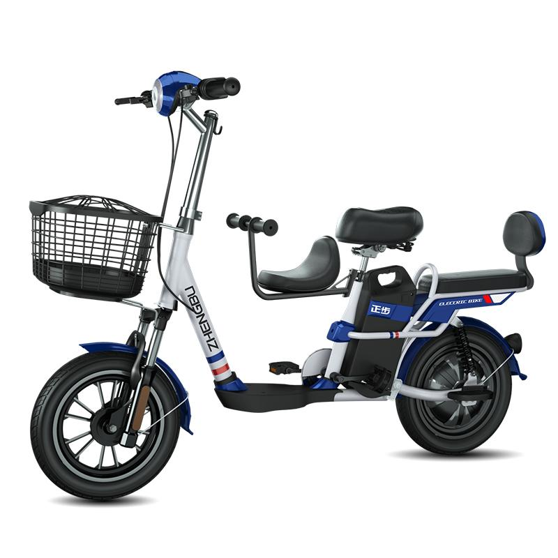 """Electric Scooter 48V Two Wheels Electric Bike 14"""" 350W Electric Bike Bicycle With Seat For Adults Kids"""