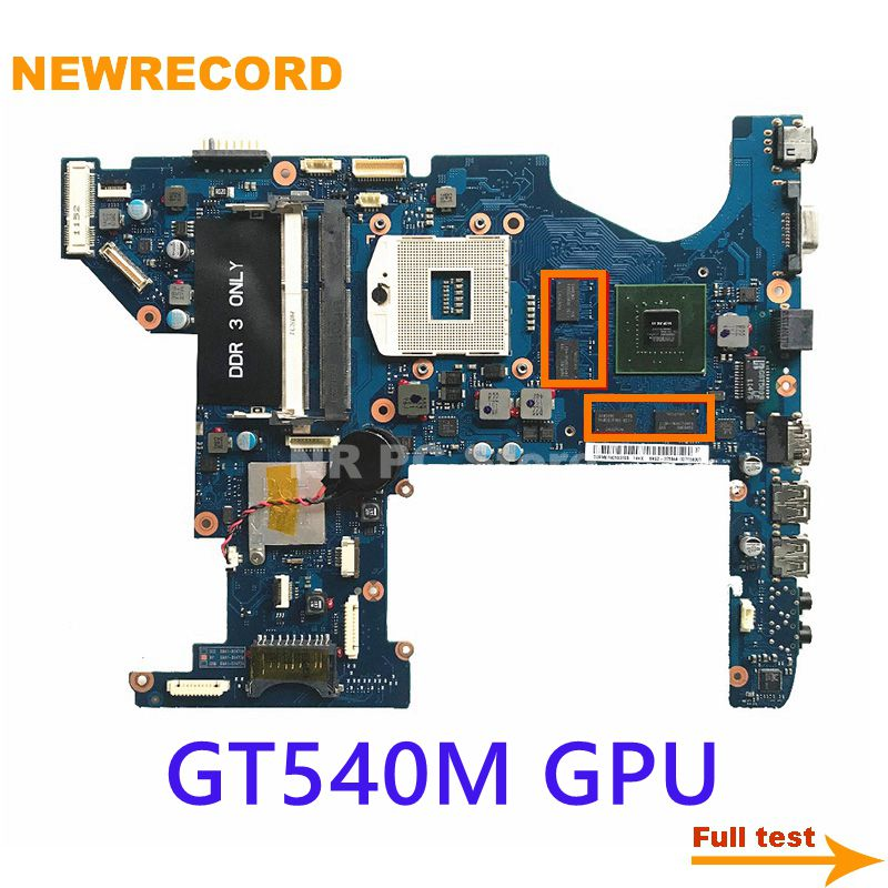 Newrecord BA92-07584A BA92-07584B BA41-01473A para samsung rf711 portátil placa mãe gt540m 2gb gpu hm65 ddr3 teste completo