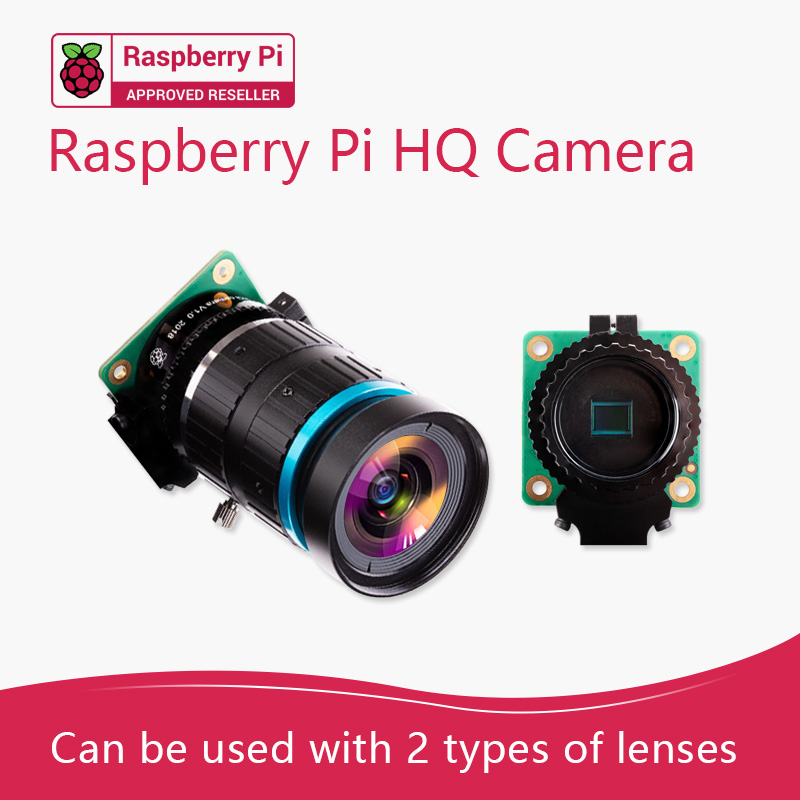 Raspberry Pi High Quality Camera 12.3 Megapixel Sony IMX477 Sensor Support For C- And CS-mount Lenses HQ Camera