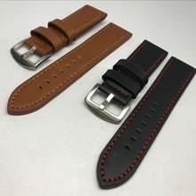 Ремешок кожаный для huawei watch gt 2 умный Браслет samsung
