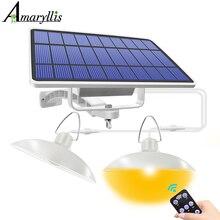 الشمسية قلادة ضوء في الهواء الطلق داخلي معلق تعمل بالطاقة الشمسية تسليط أضواء تحفة ديكورية مضادة للماء مصباح ل الحظيرة مزرعة حديقة ساحة الفناء