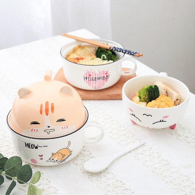 Cat Instant Noodle Bowl  2