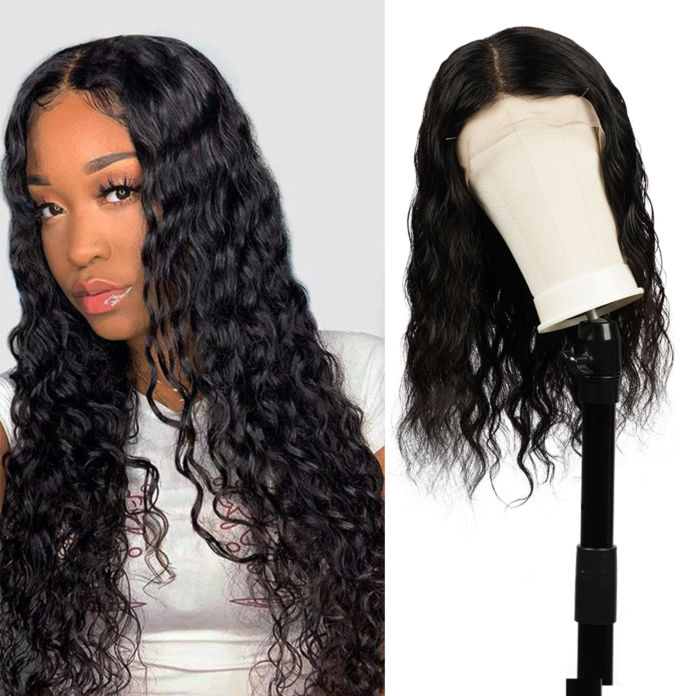Lace Front Human Hair Wigs Natural Wave Pre Plucked Hairline Baby Hair 10-26Inch 13x4 150% Density Remy Human Hair Wigs