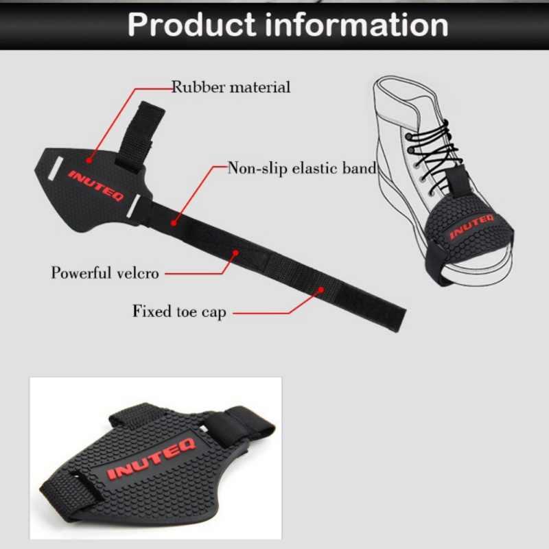 Universal รถจักรยานยนต์รองเท้าป้องกันเกียร์ Shifter รองเท้า Protector BOOT ป้องกัน SHIFT LEVER แขน Lever Notch อะไหล่