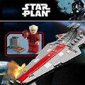 Legoinglys 6125 Pcs 05077 La Ucs Classe Venator Star Destroyer ST04 Star Film Wars Modello Building Blocks Giocattoli Dei Mattoni Compatibile