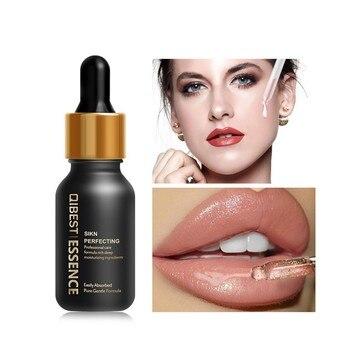 Suero de labio Facial de ácido hialurónico, esencia hidratante, cuidado de la piel retráctil, reparación, blanqueamiento, suero antiarrugas antienvejecimiento