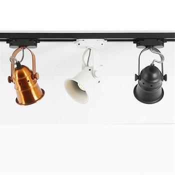 Led Track Light GU10 bulb Replaceable Lights Rail Spotlight Lamp Aluminum Lighting Fixture Spot for Home