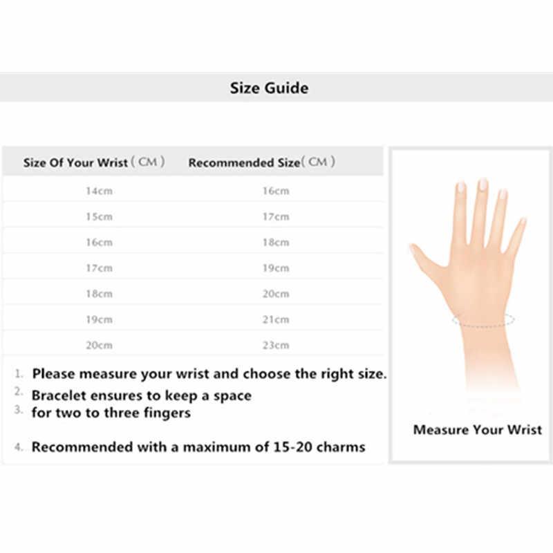 GChic ฐานโซ่งูสร้อยข้อมือ DIY ลูกปัดสร้อยข้อมือ Fit Pandora Charms ลูกปัดแฟชั่นผู้หญิงสร้อยข้อมือเครื่องประดับ Pulseras