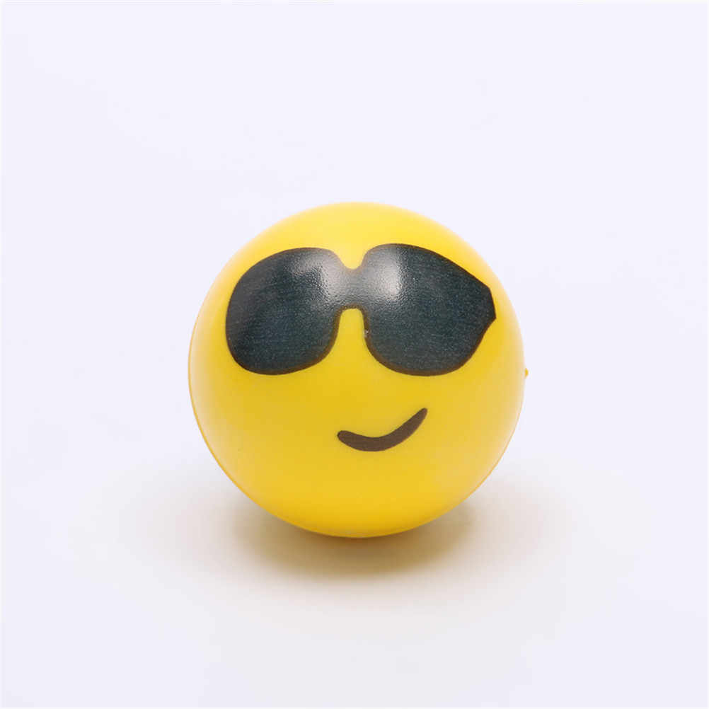 1PC Funny Face Anti Stress Reliever Ball For Kids Autism Mood Toys Squeeze Relief For Children Balls Toy Stress Ball