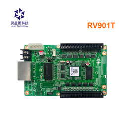 Linsn RV901T RV901 full color led display receiving card work with Hub41A/Hub40A/Hub75B adapter plate for rental led screen