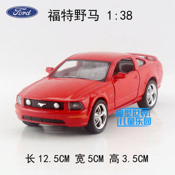 цена на Simulation 1:36 Alloy Pull Back Toy Cars Ford Mustang 2006 FORD GT Mini Car Collection Model Free Shipping