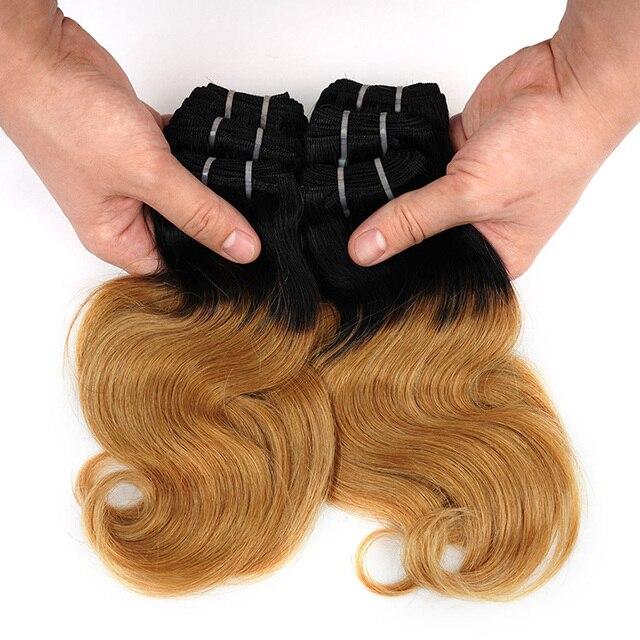 100% Brazilian Human Hair Extension 14
