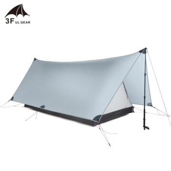 3F UL GEAR Shanjing 2 Person Outdoor Ultralight Tent 20D  1