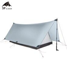 3f ul gear shanjing Ультралегкая палатка для кемпинга на 2 человек