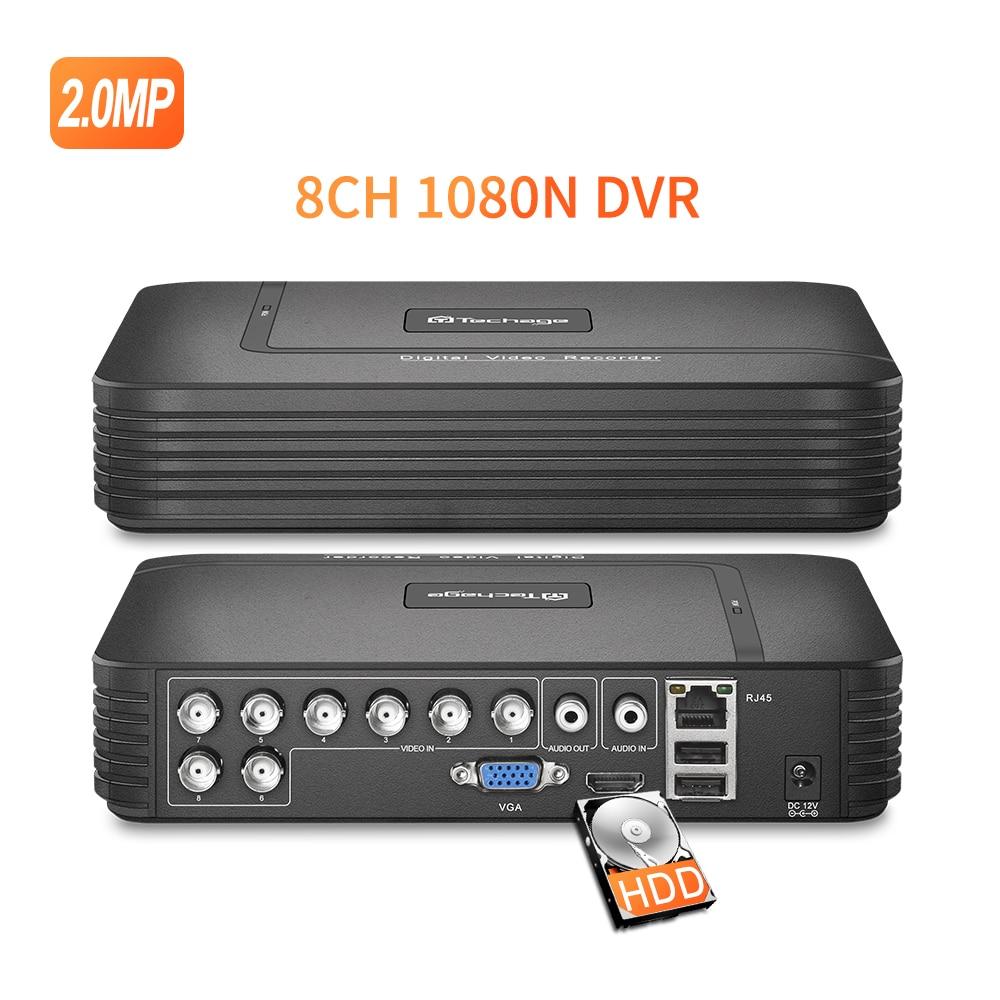 Techage H.265 Mini NVR Full HD echt P2P 16CH/8CH 5MP 16CH 1080P Video Recorder Bewegung Erkennen ONVIF für IP Kamera Sicherheit System