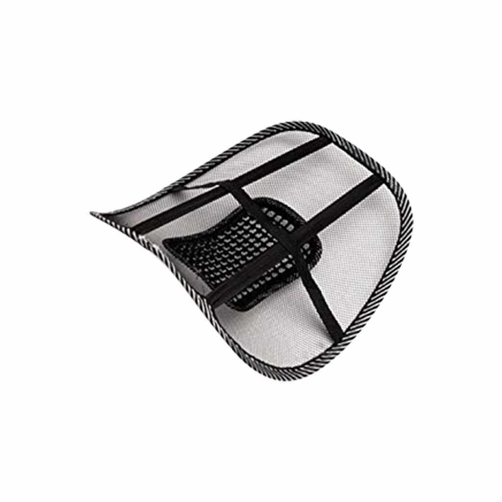 2 Stuks Universele Auto Terug Ondersteuning Stoel Massage Lendensteun Taille Kussen Mesh Ventileren Kussen Voor Car Office Home